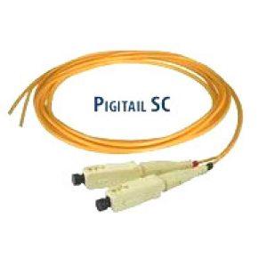 پیگتیل فیبر نوری SC