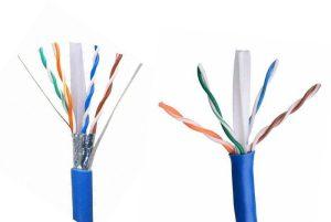 کابل شبکه CAT6 (UTP,STP,FTP,SFTP)